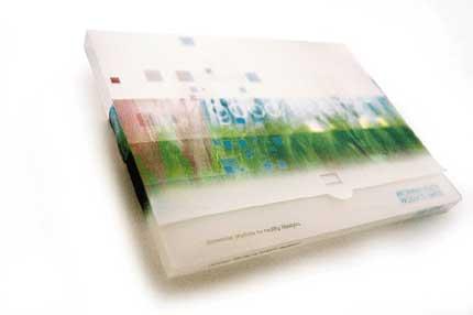 Light weight document wallet